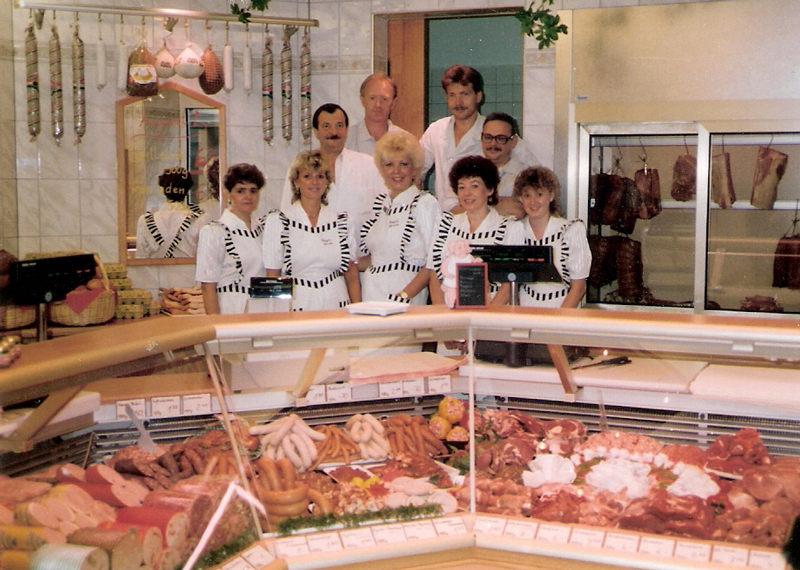Fleischerei Wernecke um 1992