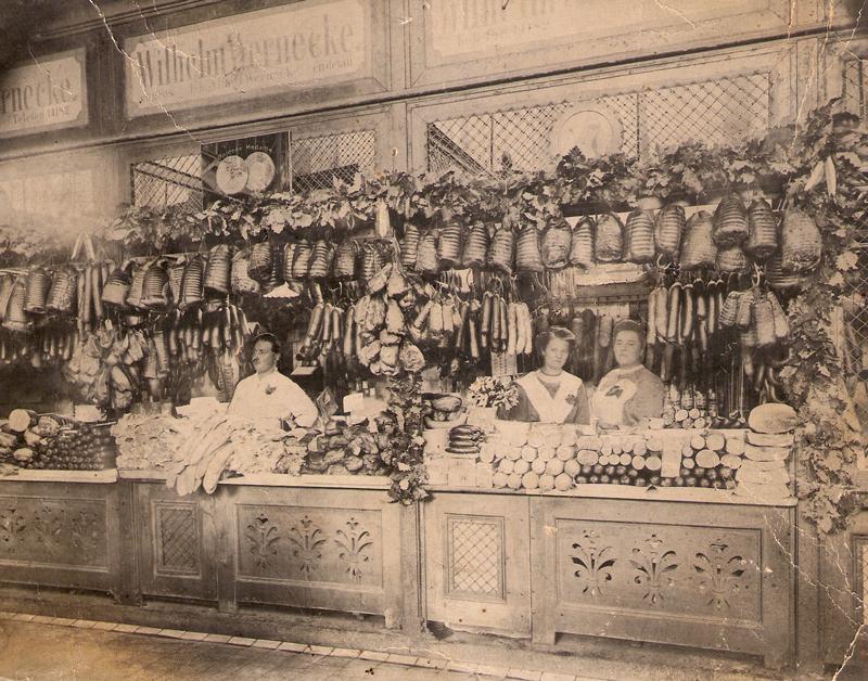 Fleisch- und Wurstgroßhandel in Leipzig nach dem 1.Weltkrieg