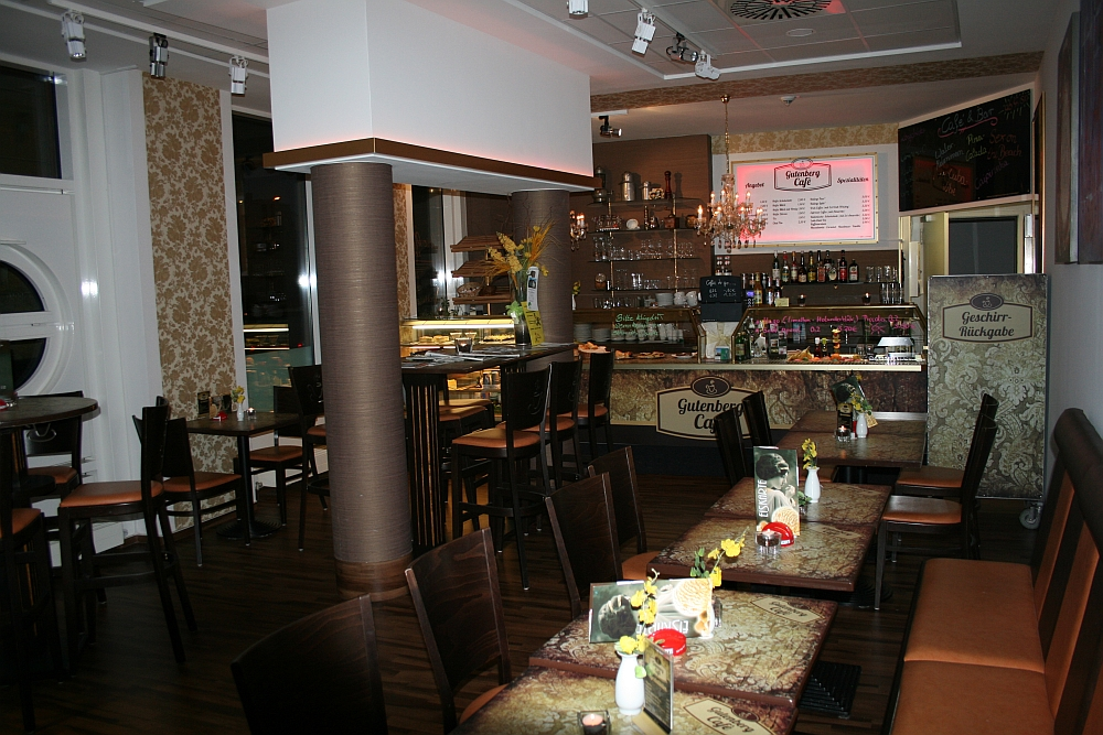 Gutenberg Cafe 2012